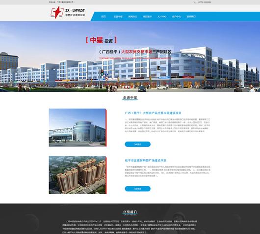 广西中星投资有限公司网站